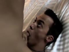 Hunky vampires enjoy cock drooling