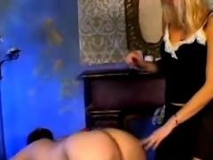Amateur couple with spanking fetish