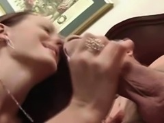Big eyes hooker blowjob and close up