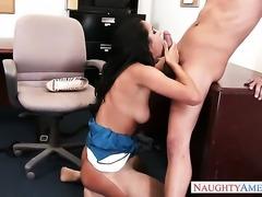 Xander Corvus gets his always hard schlong used by Senorita Abby Lee Brazil