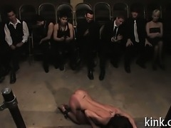 Kinky dream of hooker tied and fucked by pimp cop.