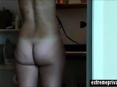 Home Nudism Milf Merel captured on spy camera