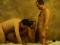 Hooker In An MMF Homemade Threesome