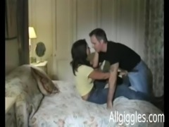 Mature couple makes a home made video free