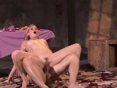 Hot pornstar blonde anal