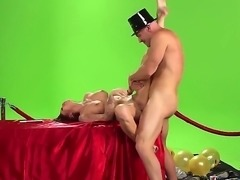 Johnny Sins and Monique make a lovely couple. She is so pleased that she will have a chance to bang him and gives her best to satisfy him.