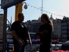 Petite redlight hooker fucks a fat tourist
