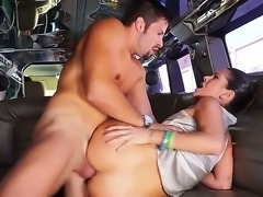Taking a ride around the town while sucking dick in a car is what she lives for. The hot Latina is always down for public sex and getting pounded on the back seat.