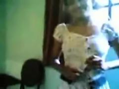 Skinny Indian Girl Recorded Showering