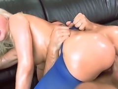 Anikka Albrite is a blonde whore who is going to get it real good from Keiran Lees big thing. This is going to be one hardcore sex with a lot of anal.