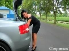 milf solita en la carretera | ver mas videos aqui http://videosxxx.mooo.com/1 free