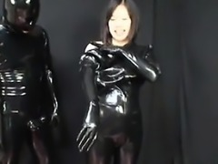 Japanese Latex Catsuit 35 - Find her on ASIA-MEET.COM