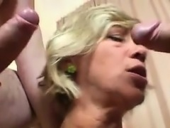 Find her on MILF-MEET.COM - Two young dudes bang pretty momm