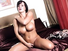 Lisa Ann enjoying great masturbation session