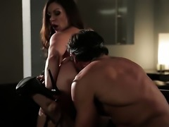 Kendra Lust has her ass licked