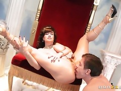 Mick Blue uses his hard love stick to make Lisa Ann with massive tits happy