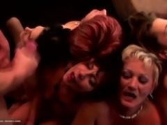 Top notch group sex with not grannies and mothers