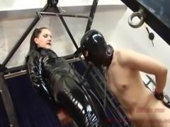 GERMAN BDSM MILF - STRAPON TORTUR