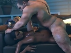 Cassie Cage and Jacqui Briggs in MK X have sex