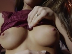 You couldn't even imagine, what naughty experiments, this fragile babe,...