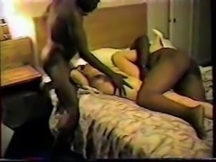 hs1 amature husband gives wife to big black cock