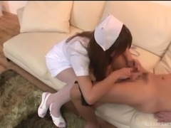 japanese nurse who loves to suck