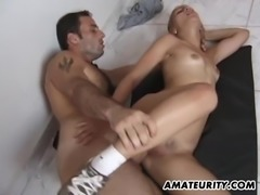 Amateur exgf anal fuck with facial shot