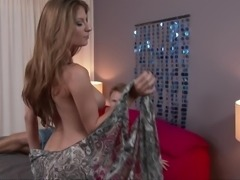Horny Teenager Fucks Her Father's Hottest Girlfriend