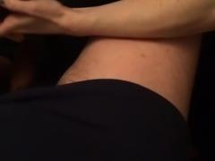 Slut spit roasted