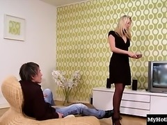 Susan Snow is a kinky blonde whore who loves to get...