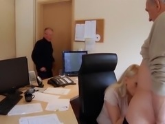 Secretary hairy young pussy amazing fuck for boss big old cock