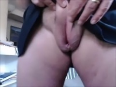 futa playing with puss slit Futanari hermaphrodite masterbating