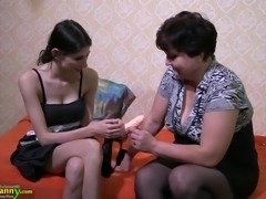 Old mature granny fat bbw chunky chubby and teen lesbian masturbation using toys strapon Old-nanny, Matures, Enjoying, Lesbian-strapon, Mature-l, Mature-lesbian-strapon