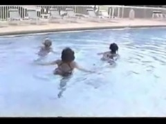 three amputee swim