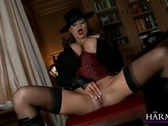Stuninng Jasmine Jae is hotter than ever. Her huge tits and her tight booty make her the real treat. She pounds on those big dicks and sucks them dry.