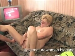 This young man always licks my pussy before banging me doggy style