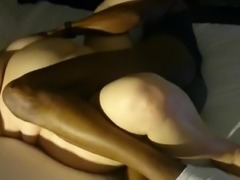 Blindfolded BBW wife with BBC 2