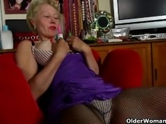 Mom is going out tonight but first she needs to masturbate
