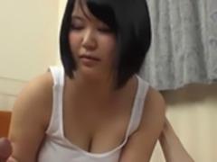 Japanese Girl Enjoys a Dick,