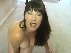 Lana from 1fuckdatecom - Mom fucks her hairy asshole