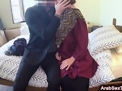 Excited Arab Babe Gets Pussy Slammed Hard In Hotel Room