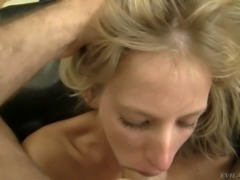 Dissolute blonde hottie with good looking body Bella Morgan fucked well