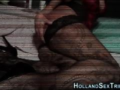 European hooker fucked