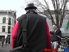 European hooker spunked