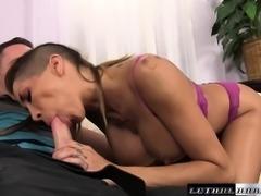 Bodacious nympho Kayla Carrera is in desperate need of a hard fucking