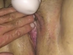 Amateur stretched pussy