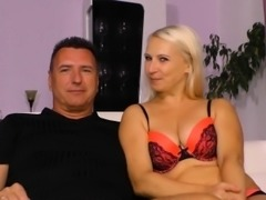 SexTape Germany - Blonde German newbie in hot amateur fuck
