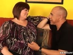 Chubby housewife Jezzebel Joli has a hung black man banging her peach