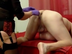 Lady Shila extreme ass punch fisting mit squirting