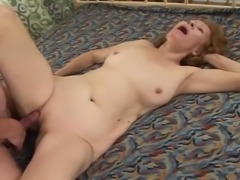 Izida the slutty granny getting fucked by old fart